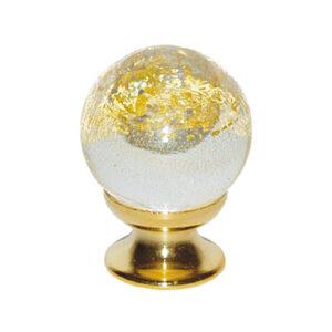 Murano Knob Gold
