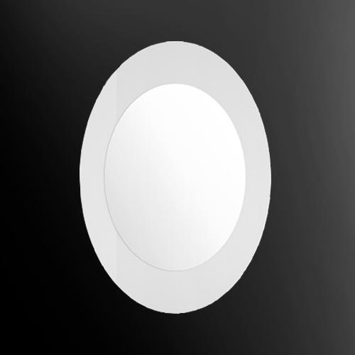 specchio ovale glass design