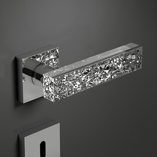 Kymi Ice Home Chrome-Clear