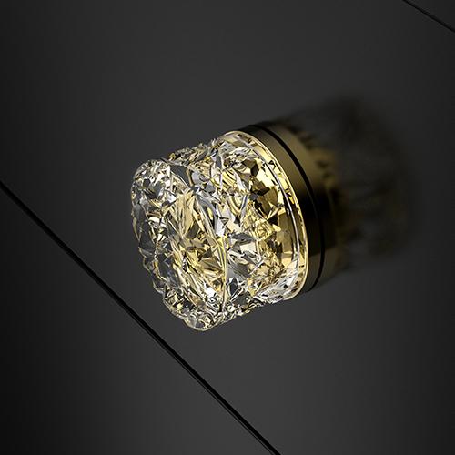 Mirage Knob Gold