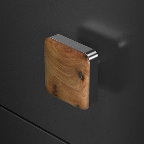 Wood 40 Chrome